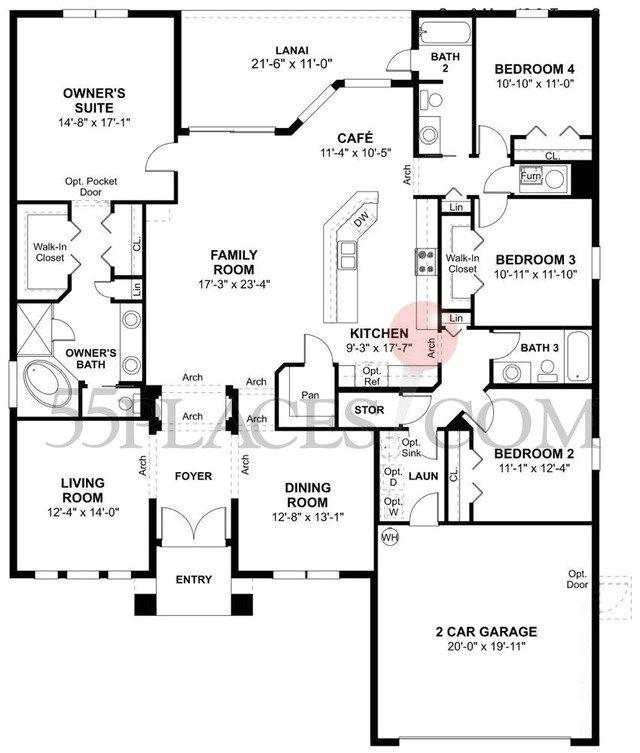 engle homes floor plans