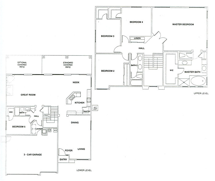 engle homes floor plans vistancia