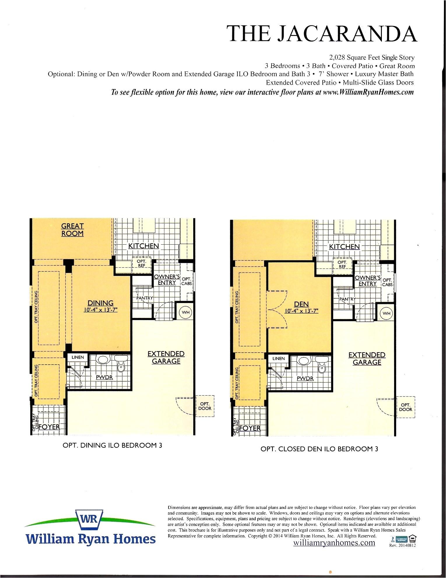 engle homes floor plans colorado