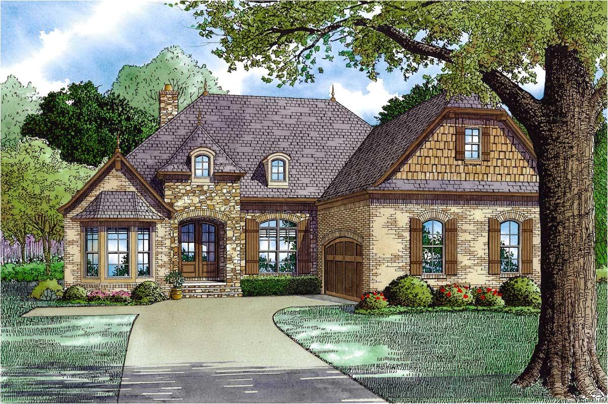 handsome european home plan 60594nd