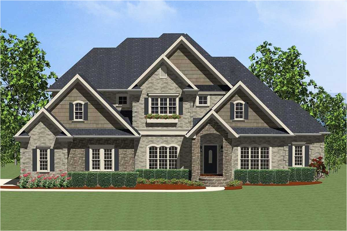 exciting traditional house plan 46237la