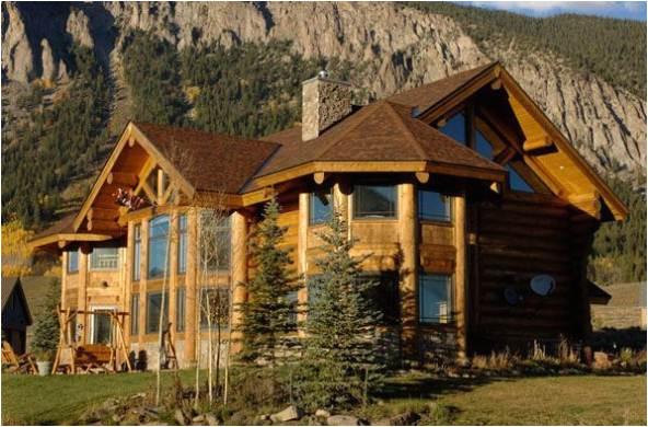 preparing a luxury log homes