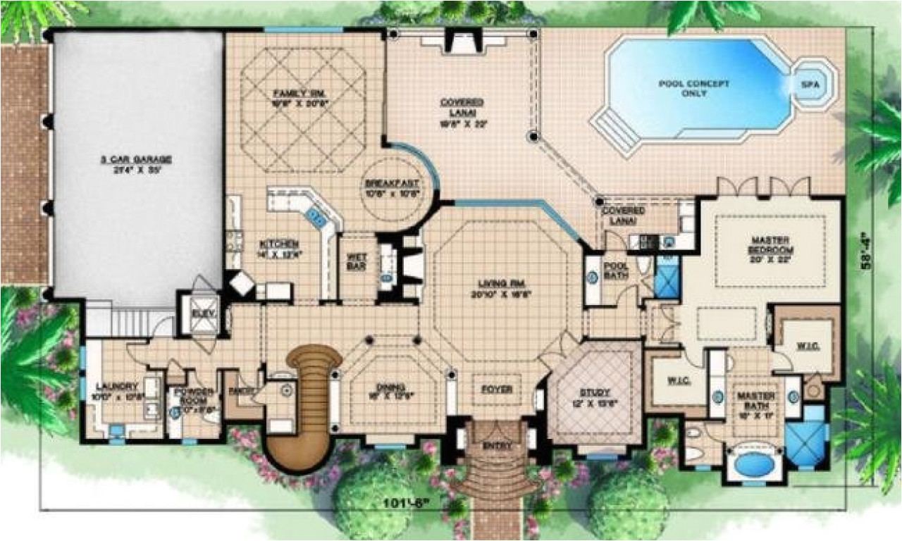 7f2f610e8be37405 tropical house designs and floor plans modern tropical house design
