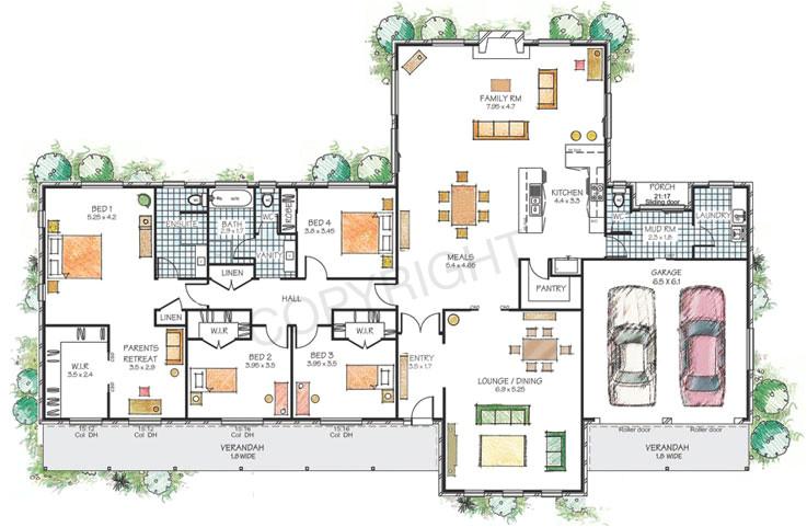 duggar family home floor plan