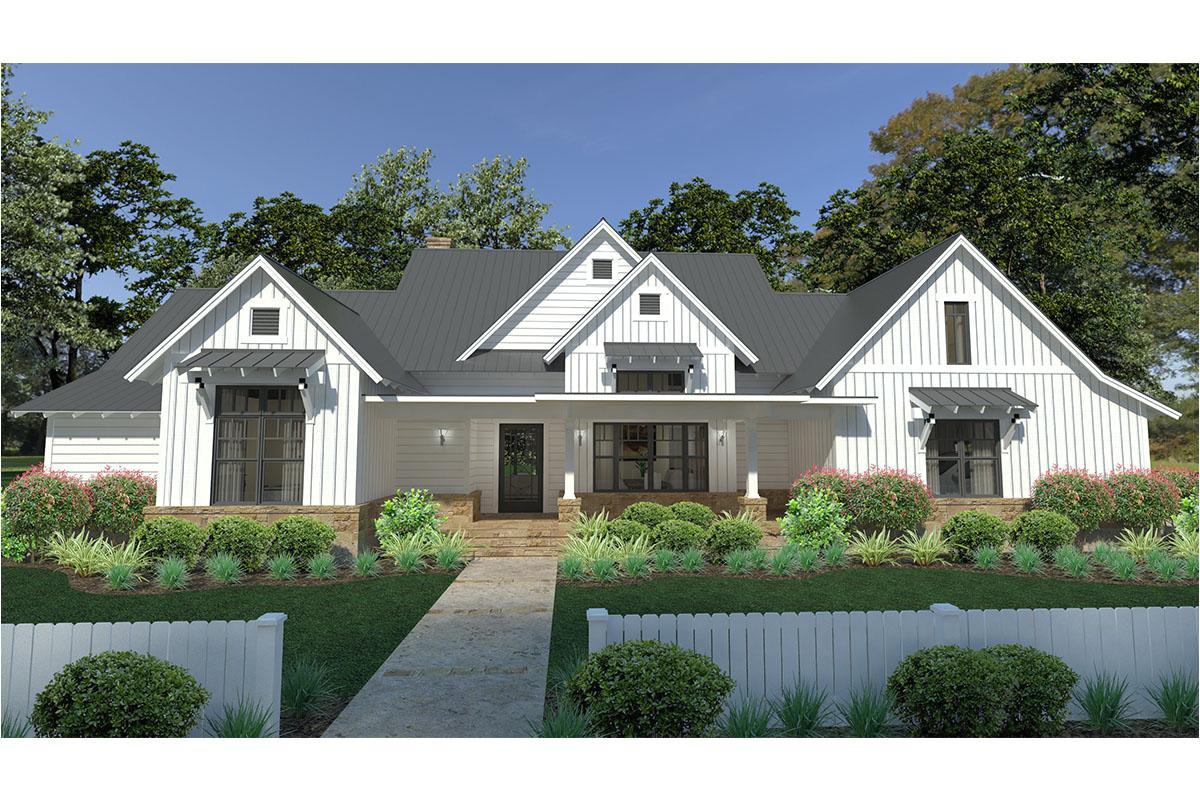 modern farmhouse plan 2393 square feet 3 bedrooms 2 5 bathrooms