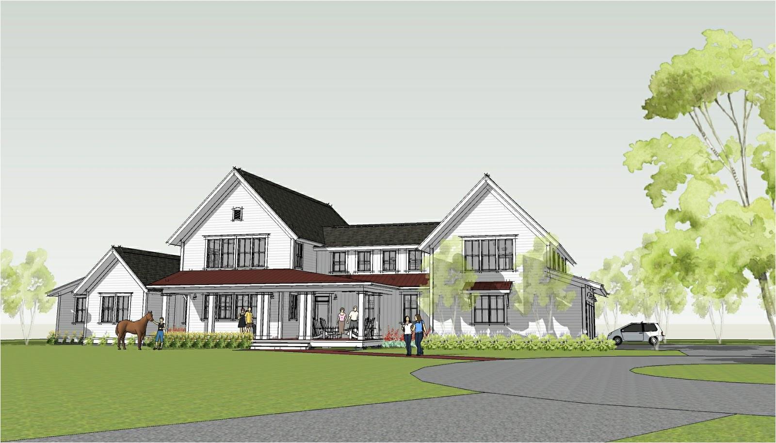 modern farmhouse by ron brenner