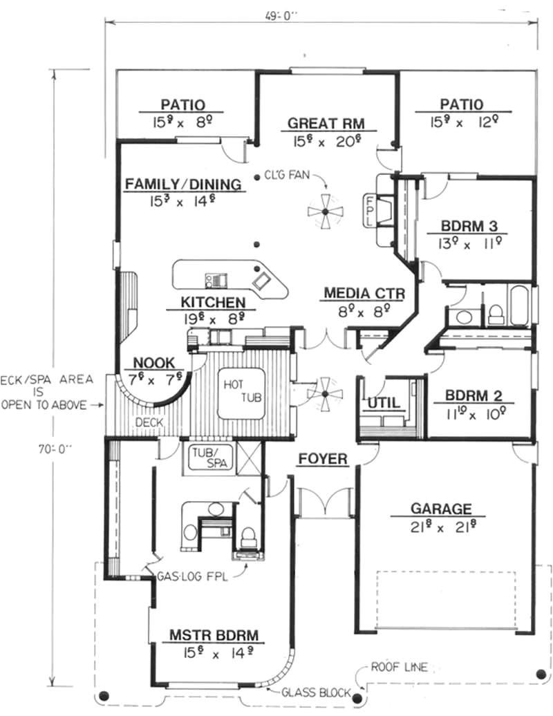 home plan 2631