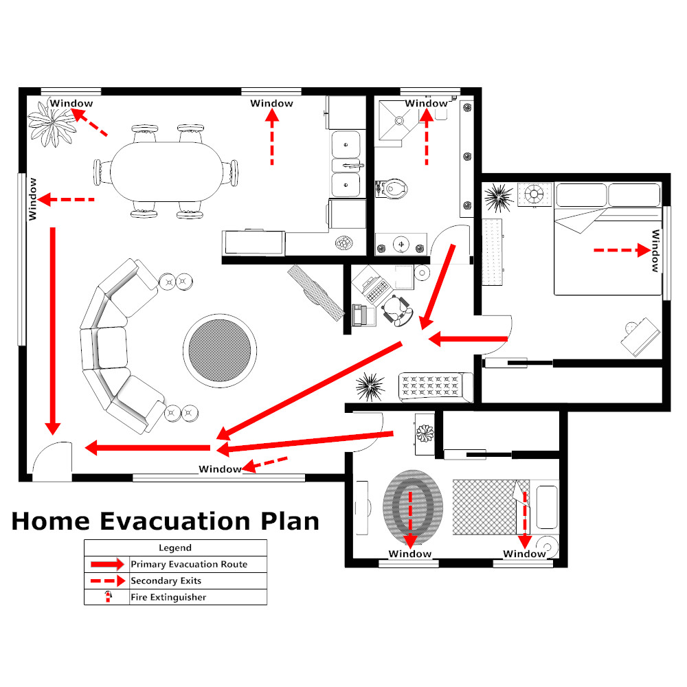 home evacuation plan 2
