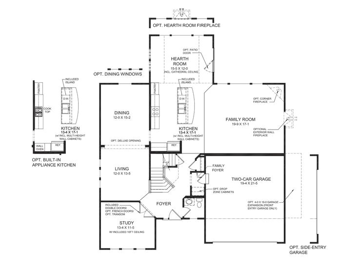 fischer homes bradford floor plan