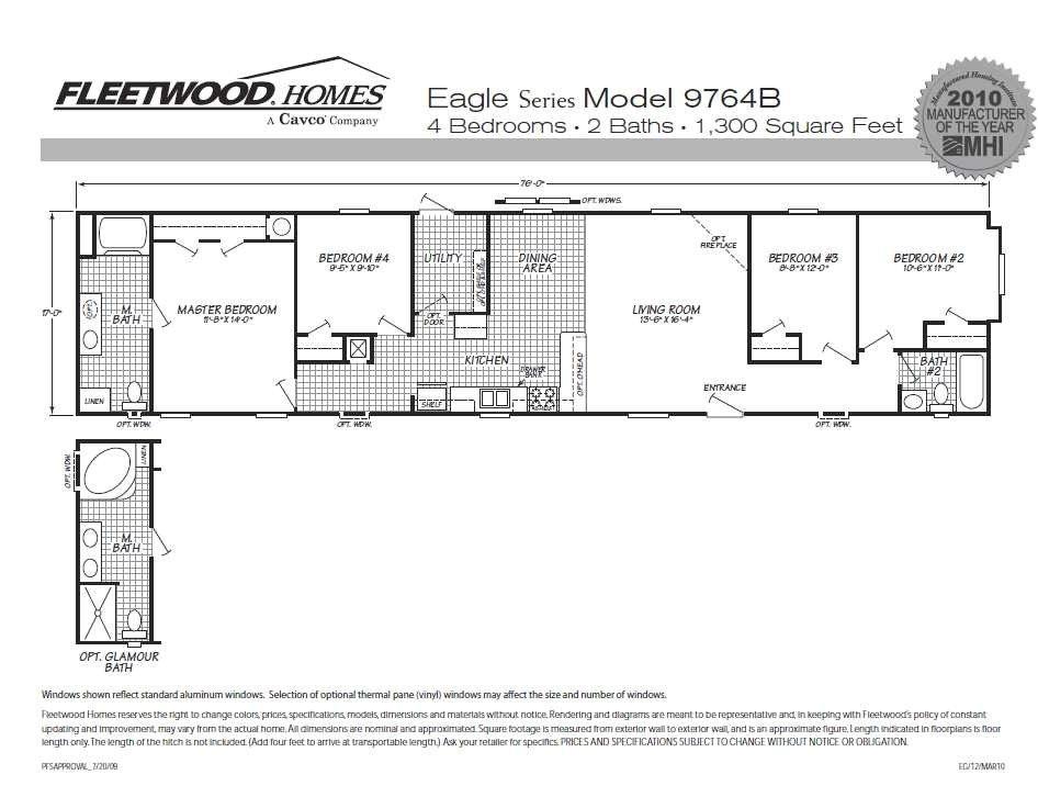fleetwood homes floor plans