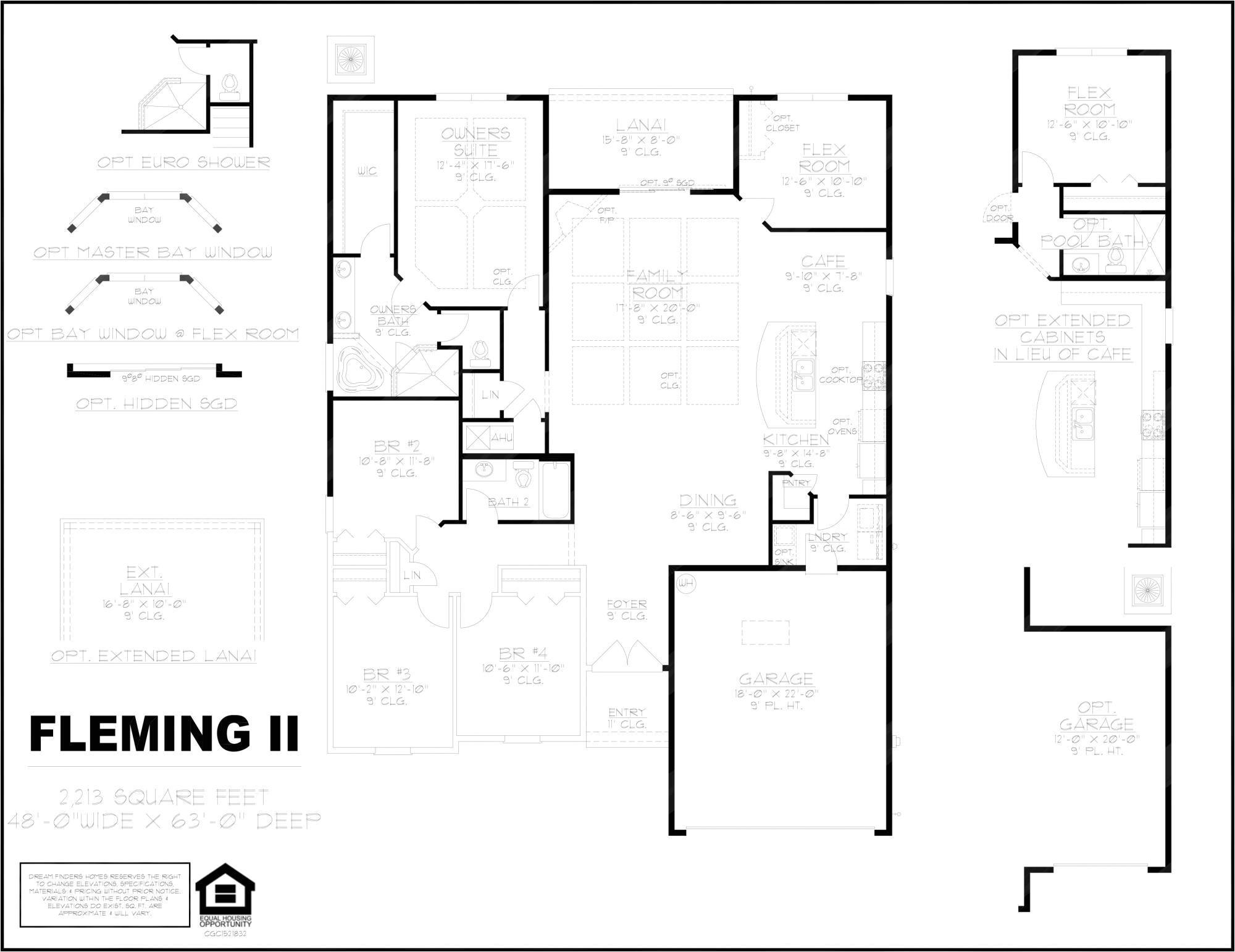 Fleming Homes Floor Plans Fleming Ii Dream Finders Homes