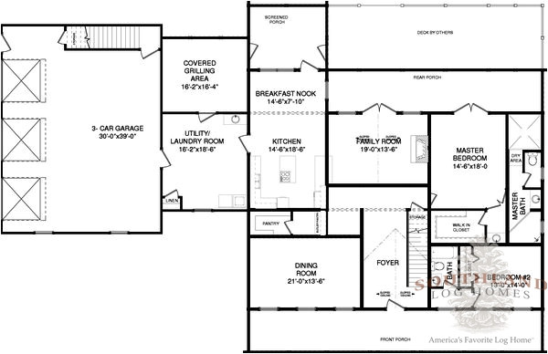 Fleming Homes Floor Plans Fleming Plans Information southland Log Homes