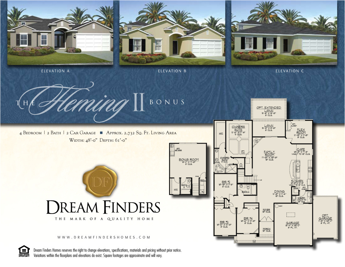 Fleming Homes Floor Plans New Construction Fleming island Dream Finders now Selling
