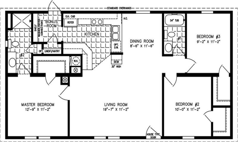 open floor plans under 1500 square feet
