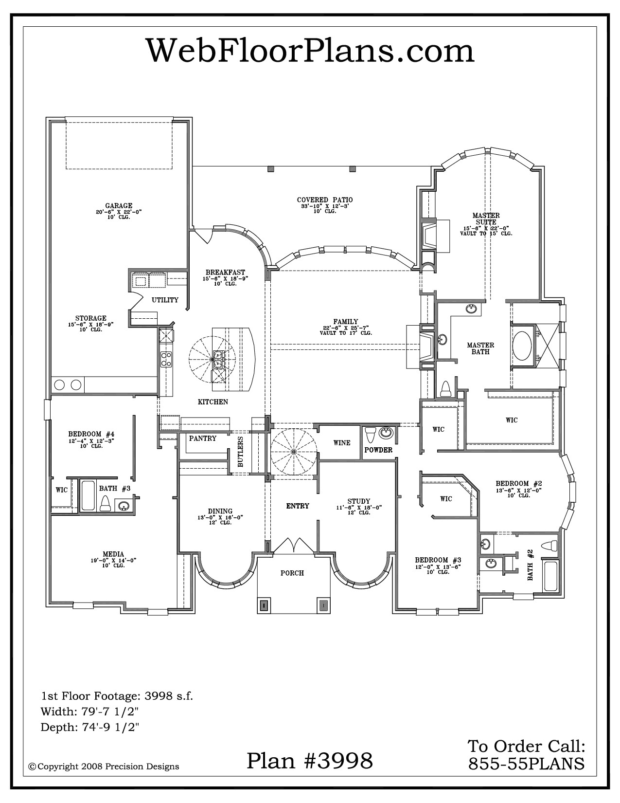 house plans 1 story
