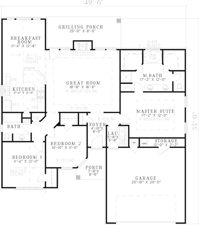 one story log home designs