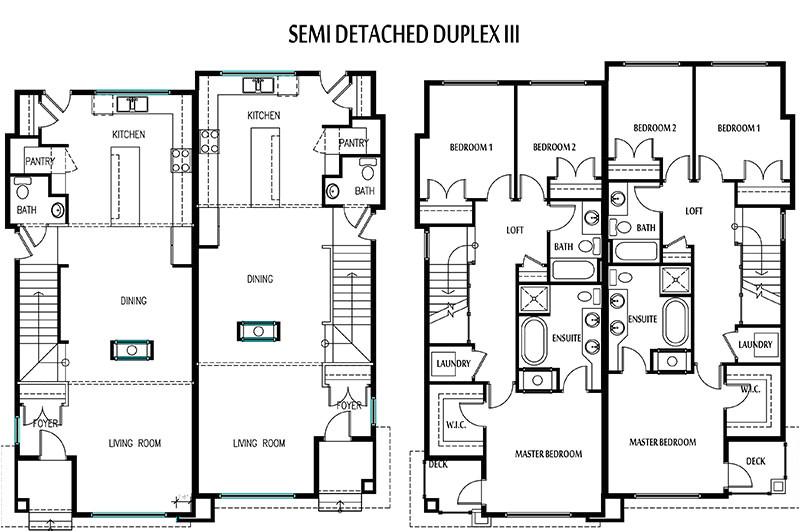 Floor Plans for Semi Detached Houses Duplex for Small Lot ... on duplex studio plans, garden studio plans, cottage studio plans, contemporary studio plans, 2 car studio plans, garage studio plans, parking plans, flat studio plans, office studio plans,