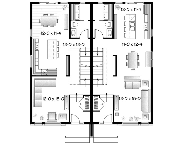 related posts semi detached house plans designs
