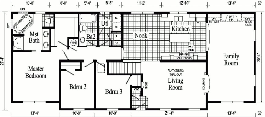 luxury floor plans of ranch style homes