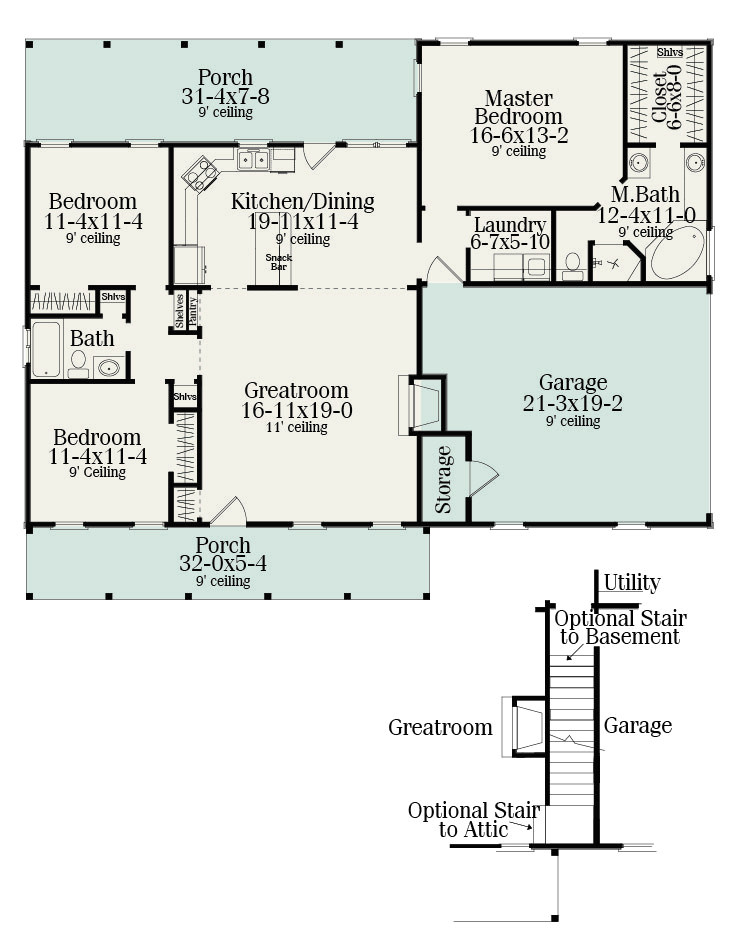 small ranch home plans
