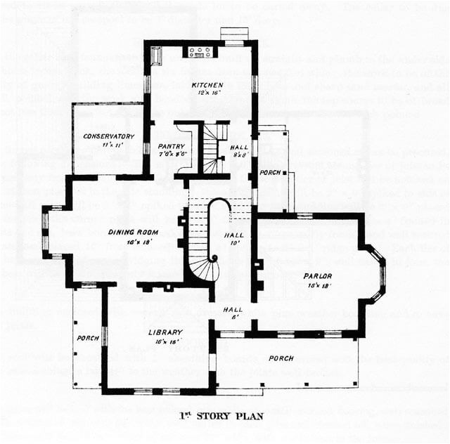 Floor Plans for Victorian Style Homes Victorian Style Home Plans Designs