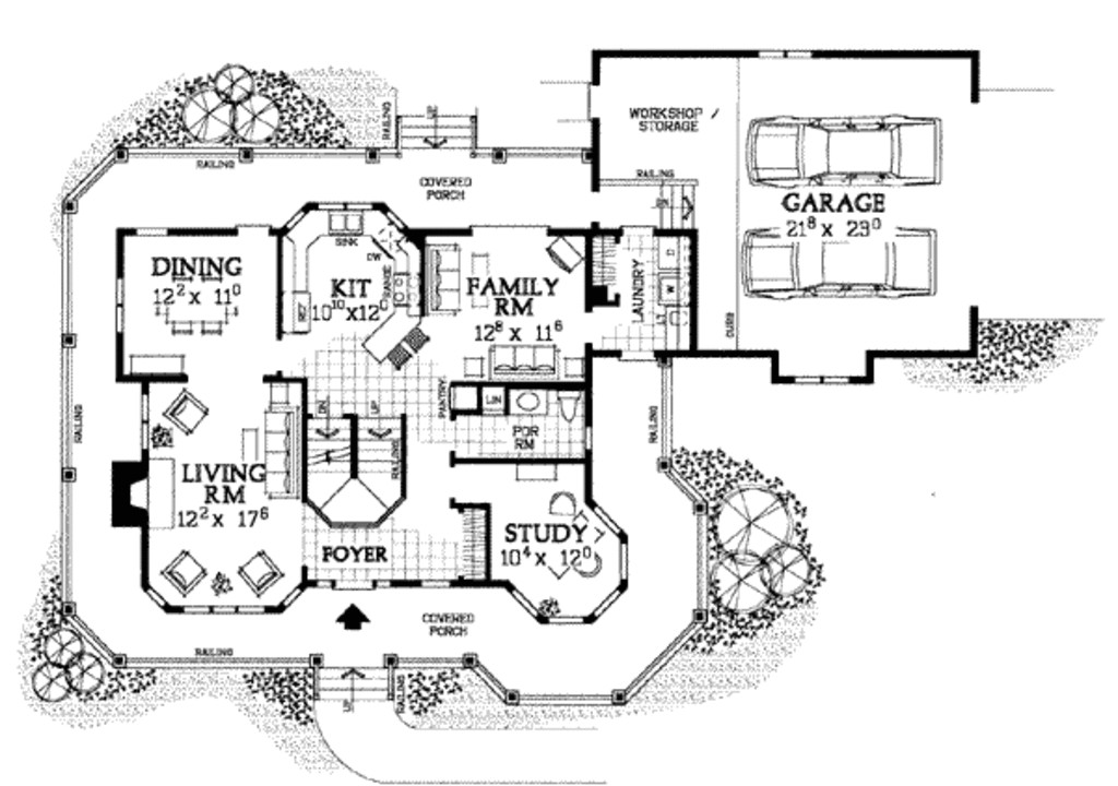 2174 square feet 4 bedrooms 2 5 bathroom country house plans 2 garage 9440