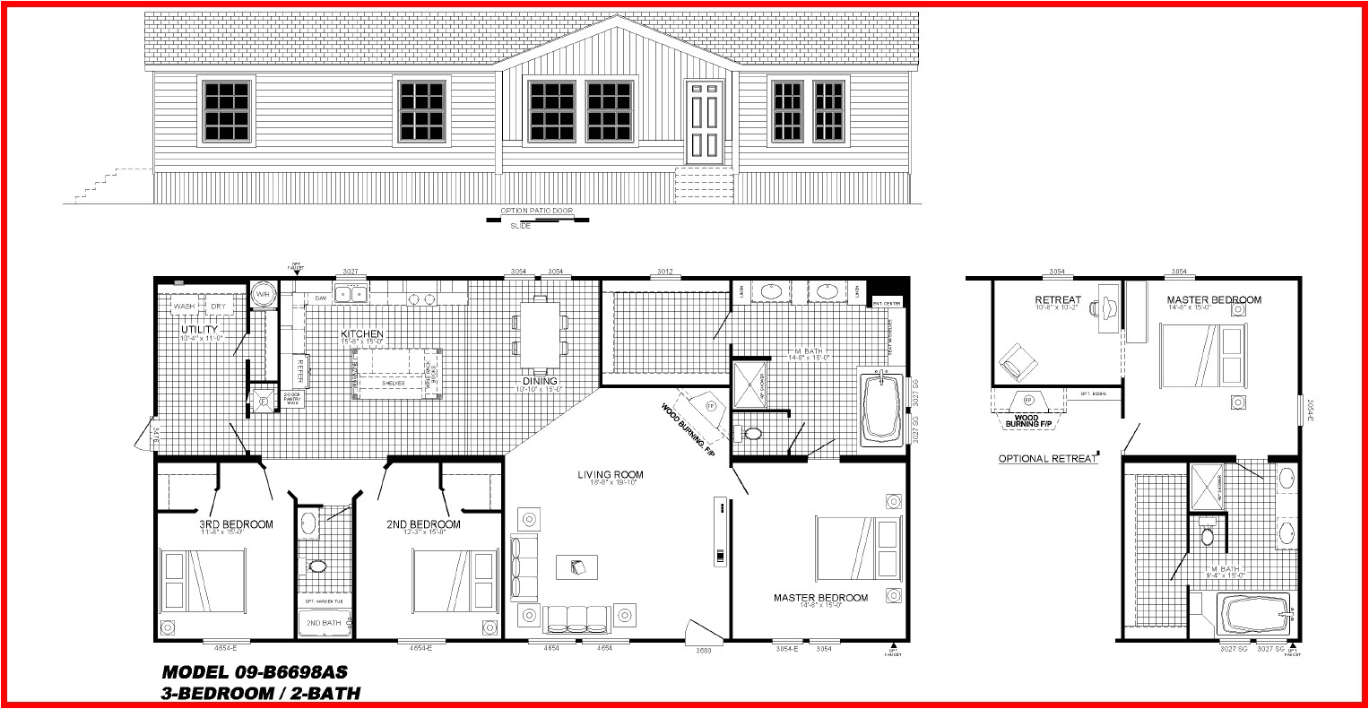 buccaneer mobile homes floor plans quality 484531