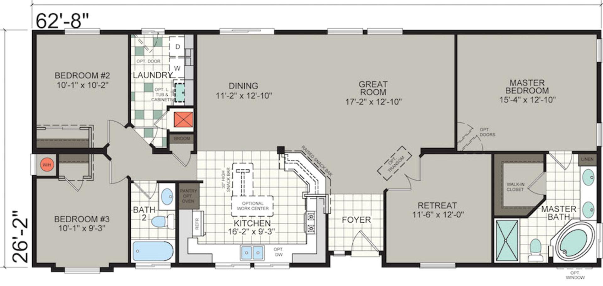 silvercrest floor plans