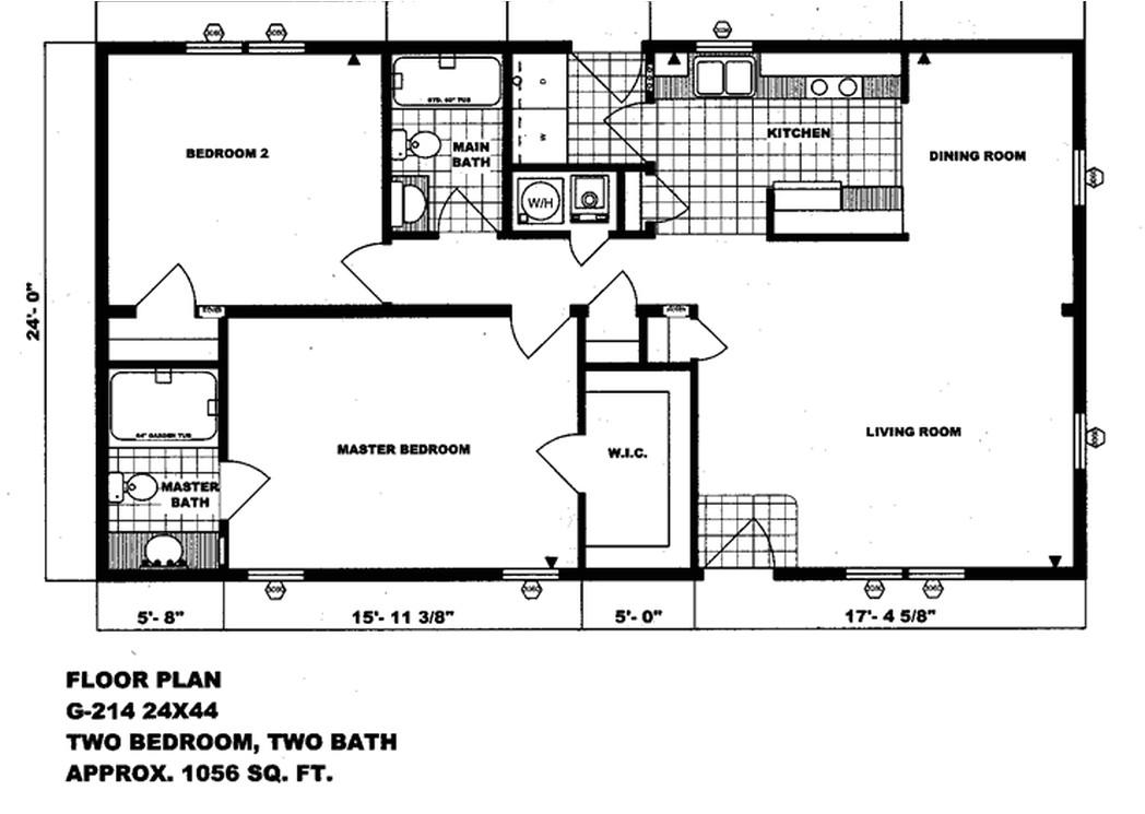 double wide floor plans 2 bedroom