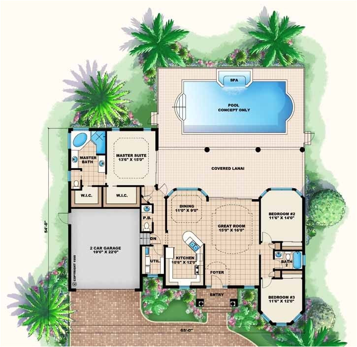 Florida Home Designs Floor Plans Beautiful Florida Home Designs Floor Plans New Home