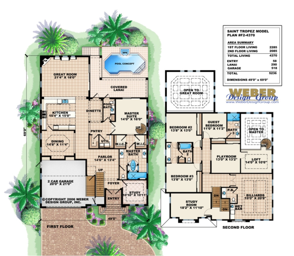 florida home designs floor plans