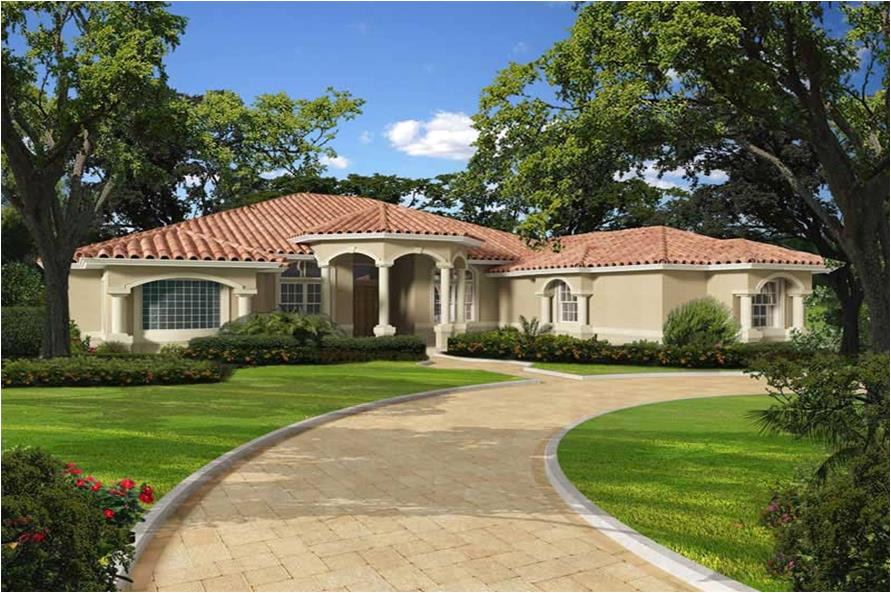 Florida Home Plans with Pictures Florida Style Home with 5 Bdrms 5565 Sq Ft Floor Plan