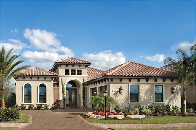 Florida Home Plans with Pictures Sienna 1220 Mediterranean Exterior Tampa by Arthur