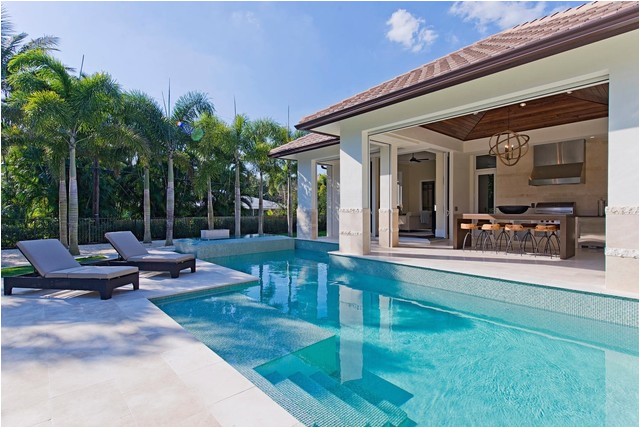 british west indies home in naples florida mediterranean pool other