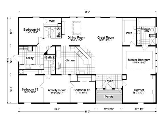 florida modular home floor plans