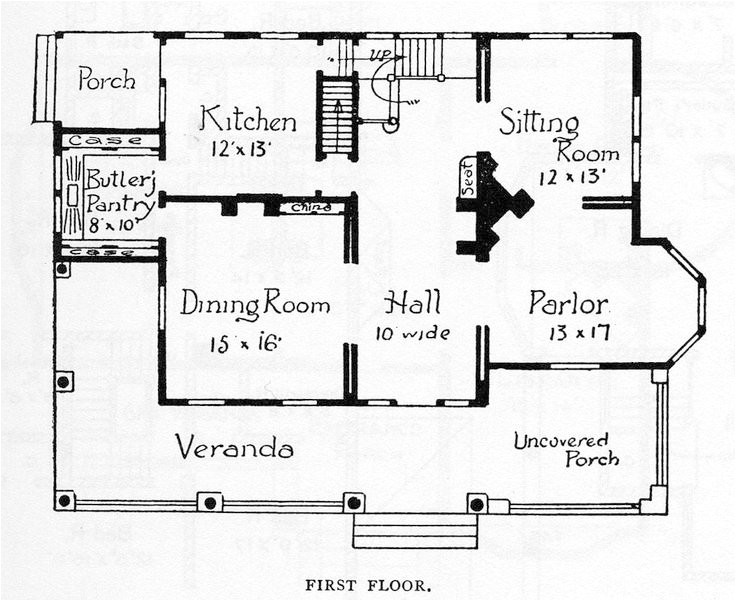 folk victorian house plans