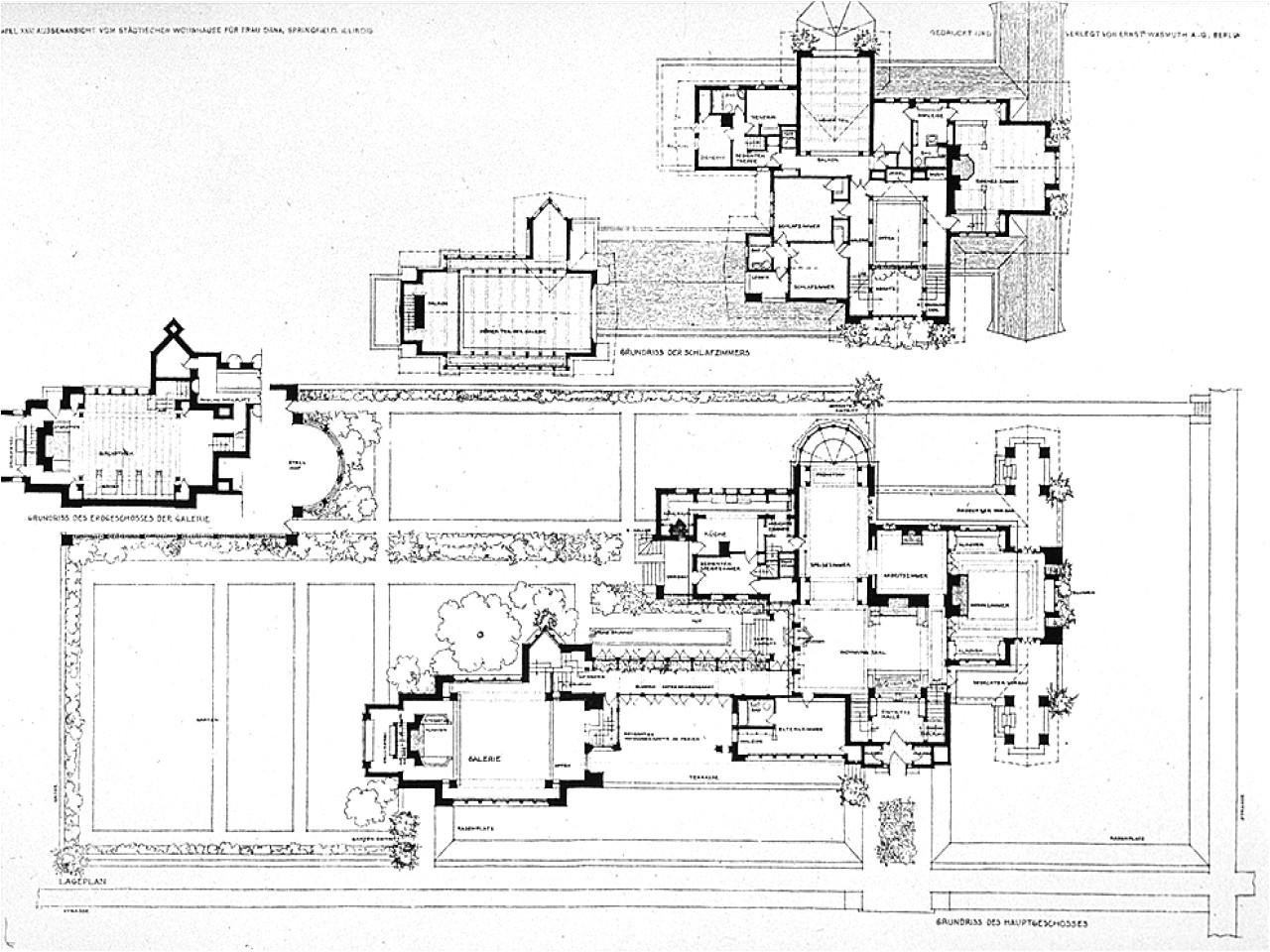 2cb0bef7986b88d7 frank lloyd wright designs frank lloyd wright dana house plan