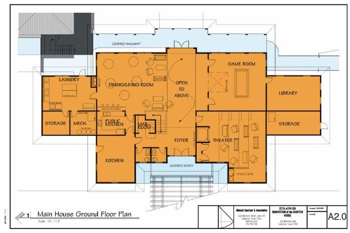 frat house floor plans