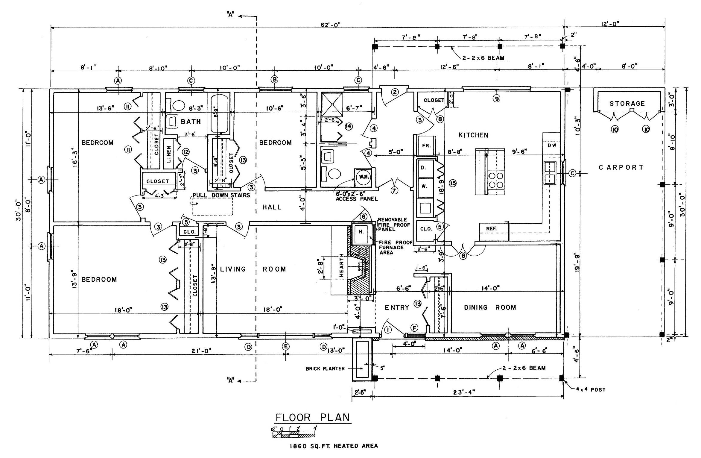 blueprints of houses
