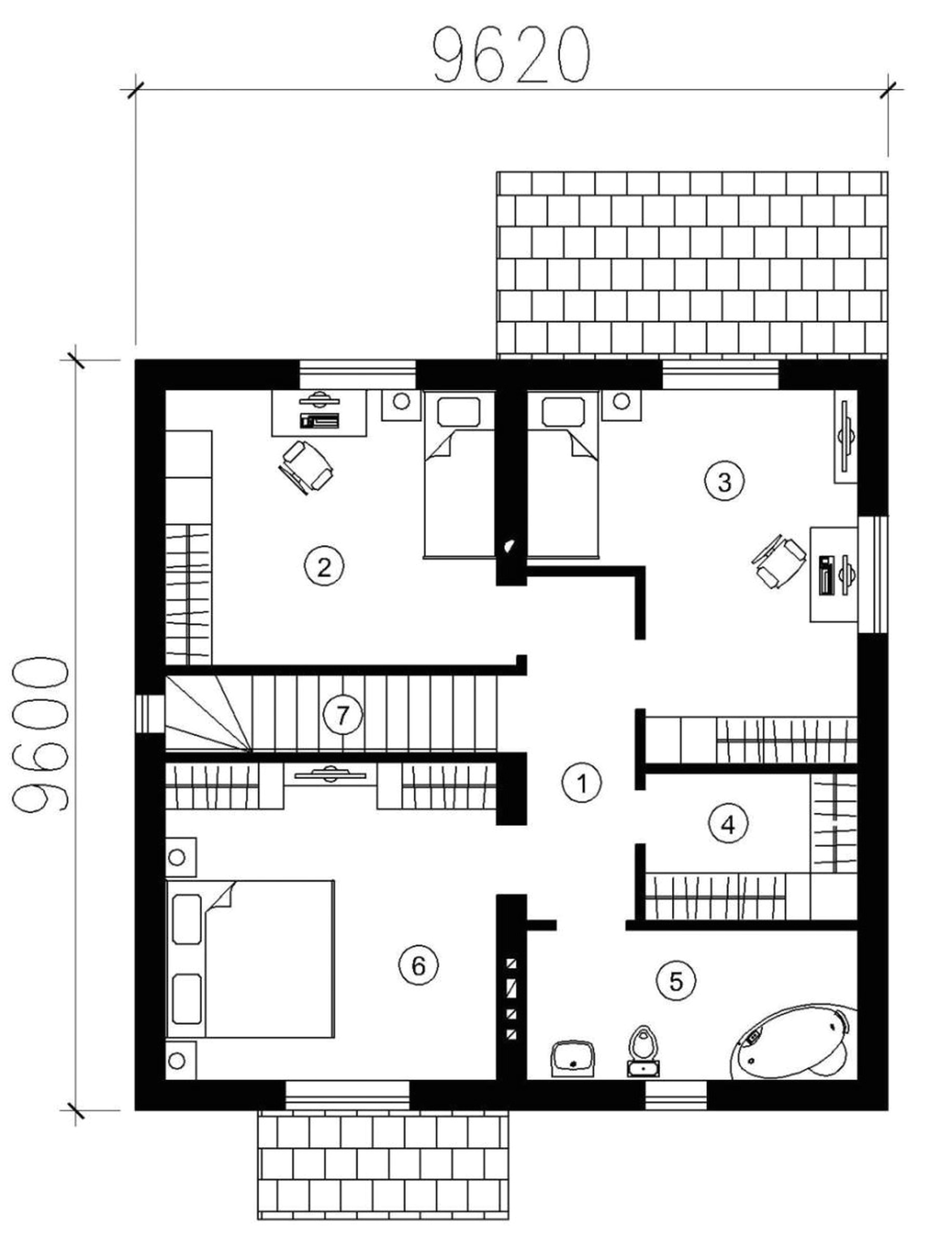 small simple house floor plans