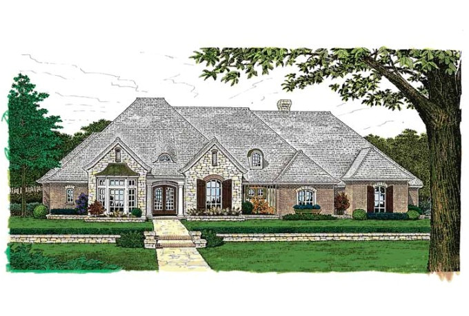 inspiring one story country house plans 10 french country house plans one story