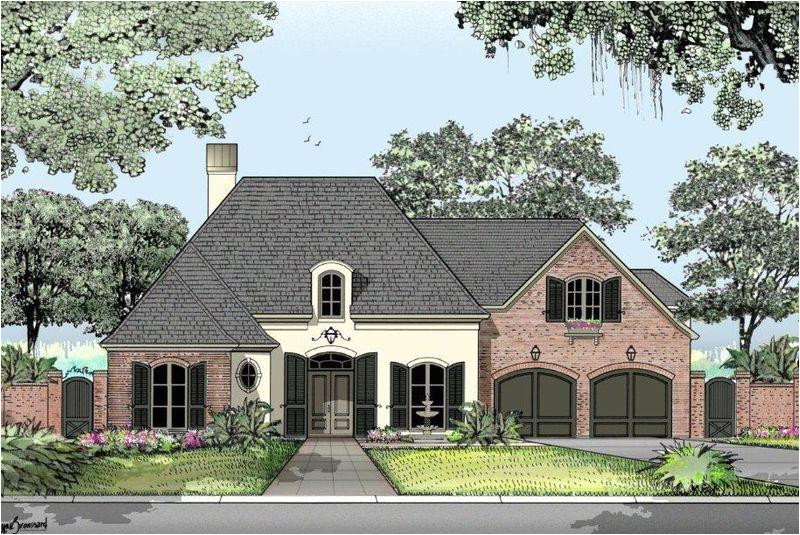 french country house plans in louisiana