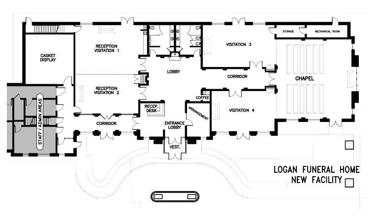 funeral home floor plan layout beautiful 18 elegant gallery funeral homes floor plans