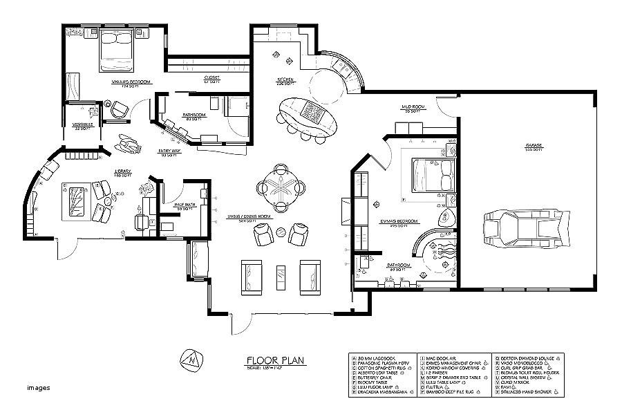 funeral home floor plan