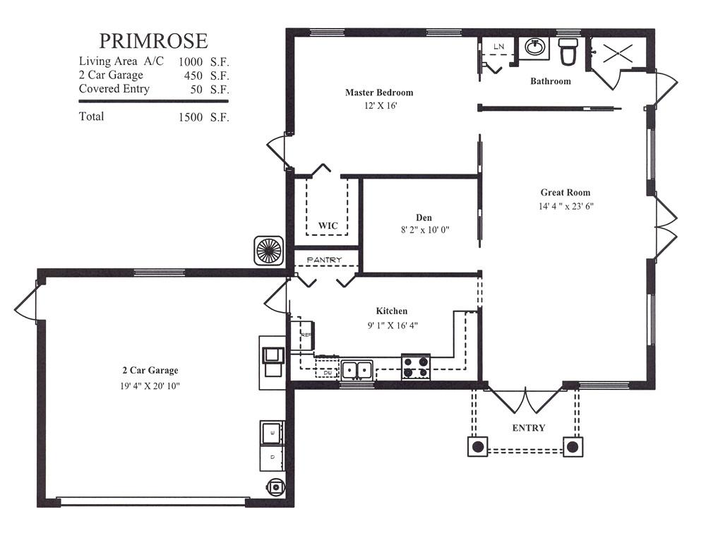 garage floor plans guest houses tanen homes