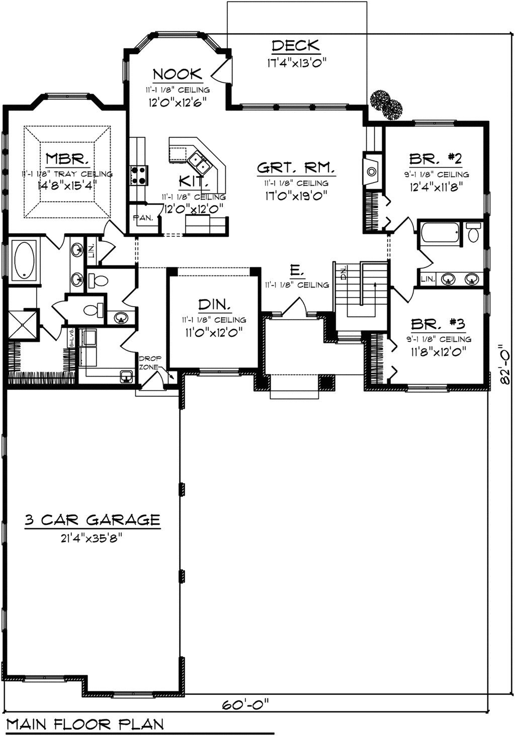 house plans with side garage