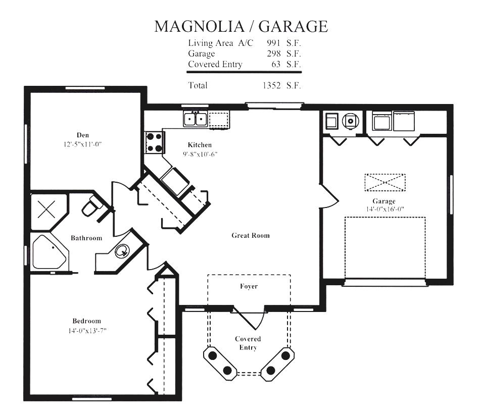 pool house floor plans with garage and green landscaping ideas
