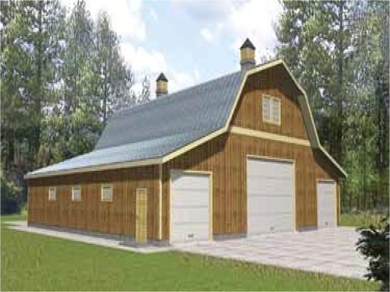 home plans with drive under garage