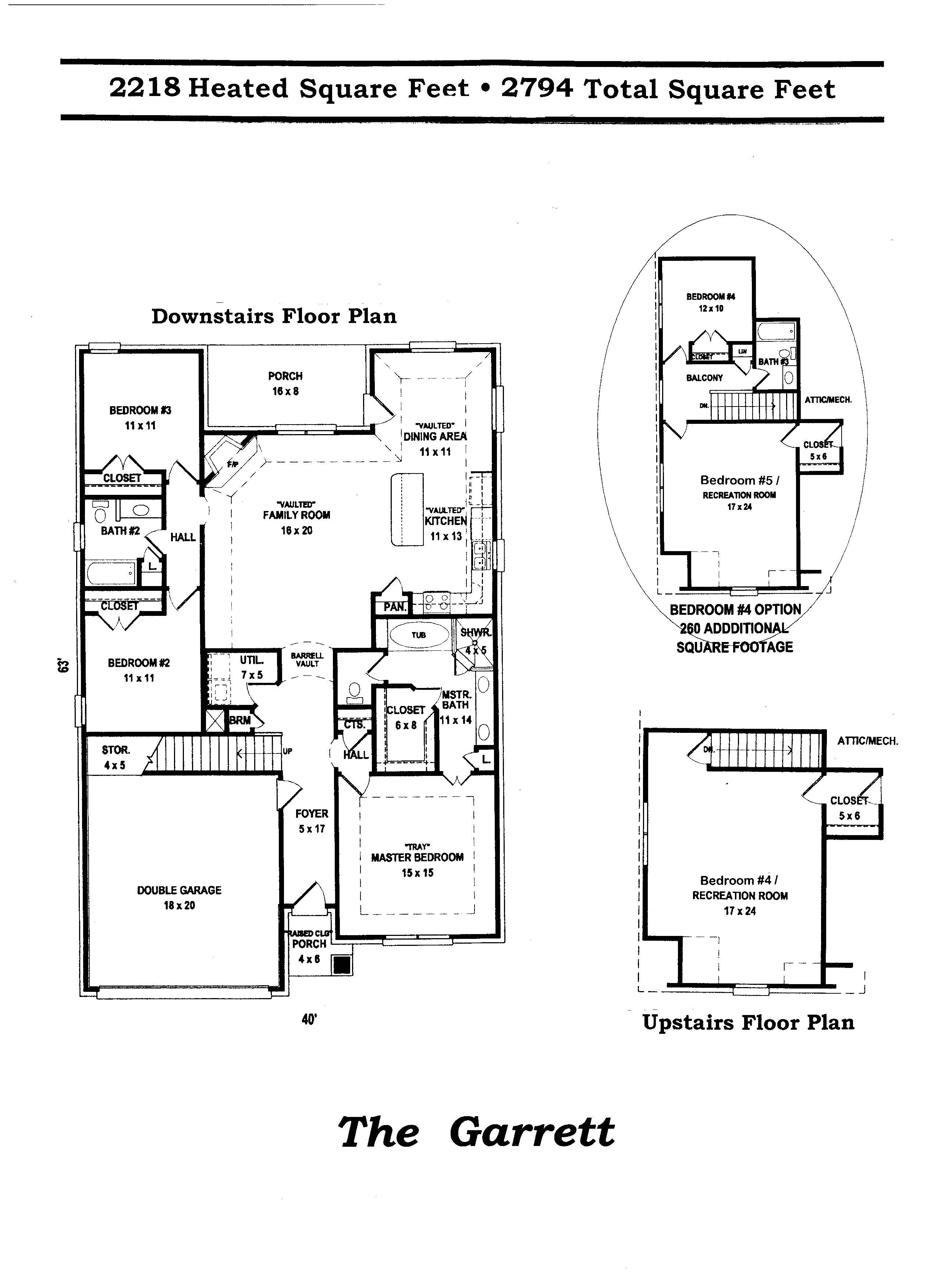 garrett floor plan 2