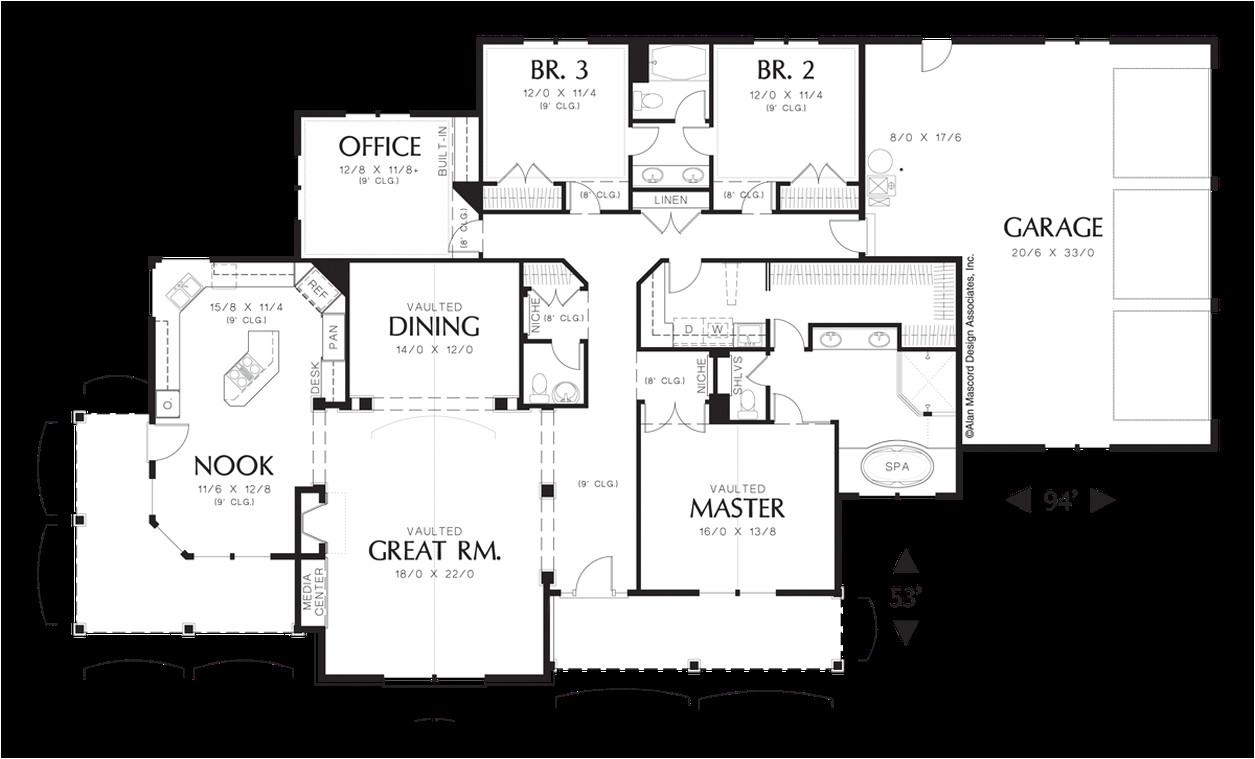 Garrett Home Plans House Plan 1232 the Garrett
